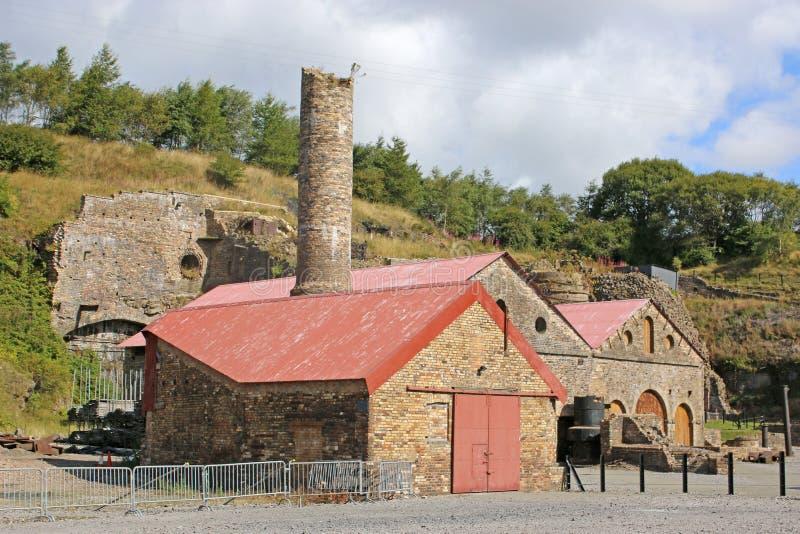 Industrie siderurgiche di Blaenavon immagine stock