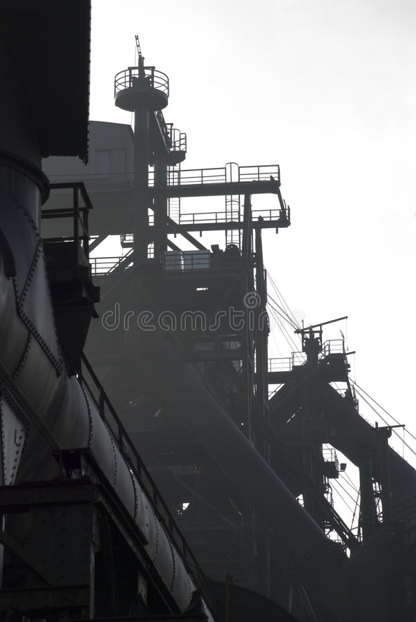 Industrie-Skyline stockbild
