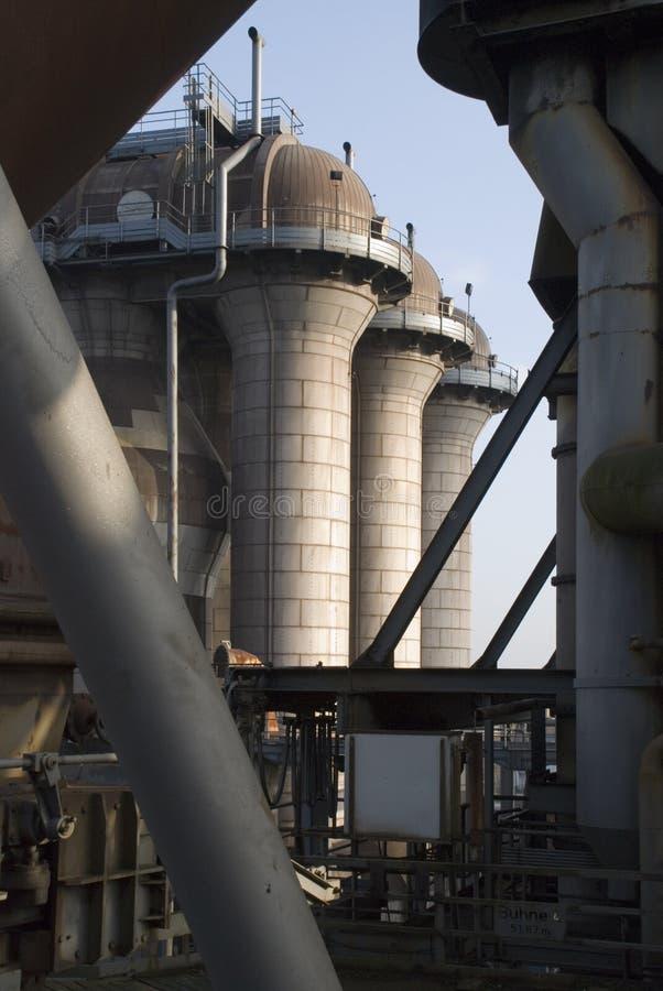 Industrie-Skyline lizenzfreies stockfoto