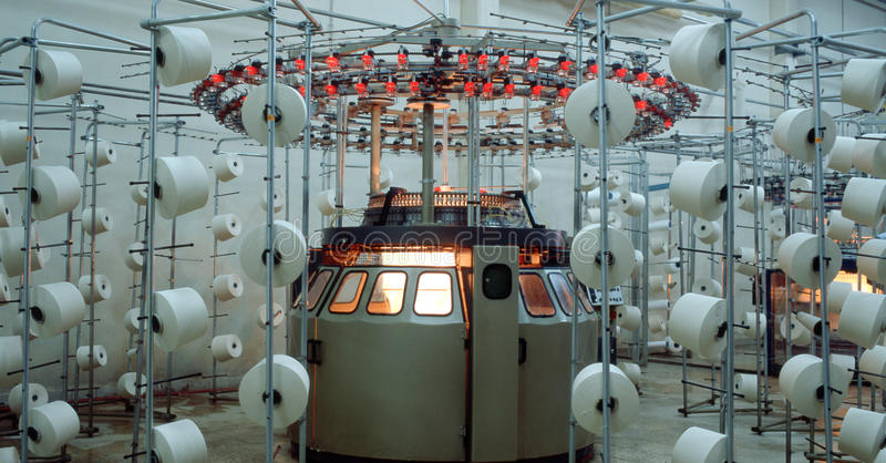 Industrie textile photos stock