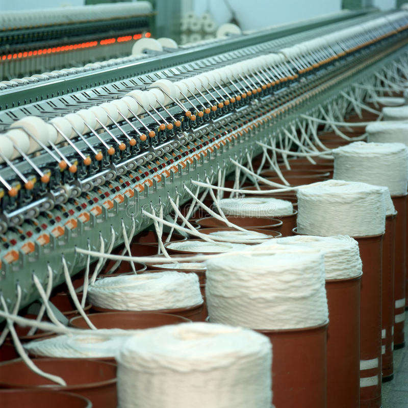 Industrie textile image stock
