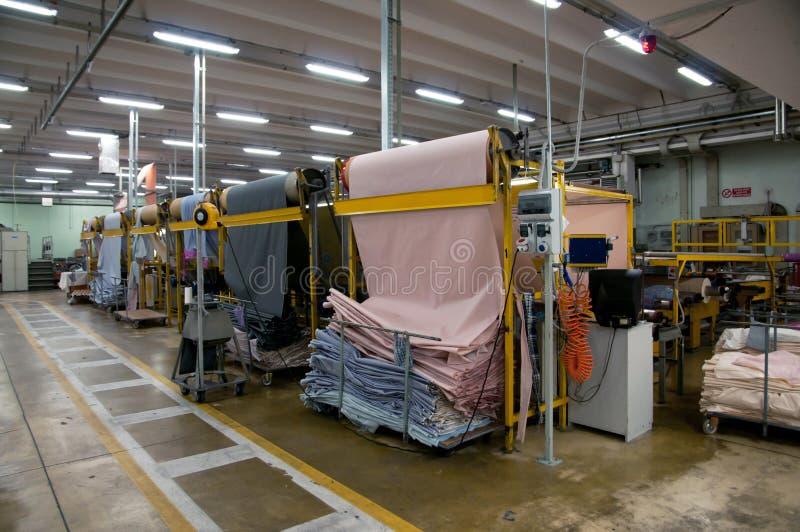Industrie textile photographie stock libre de droits