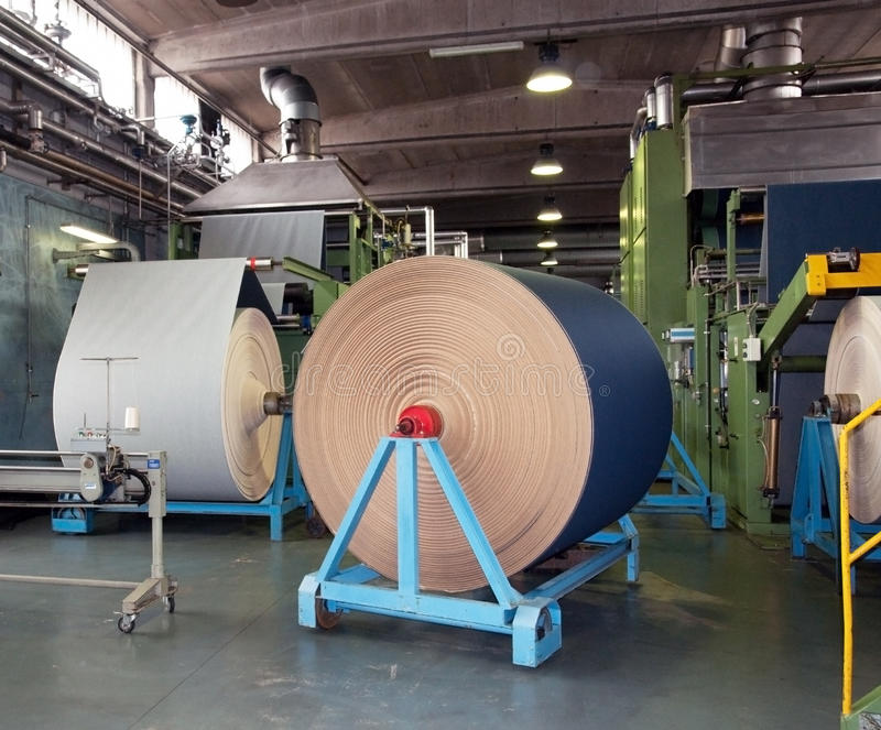 Industrie textile (denim) - tissant image stock