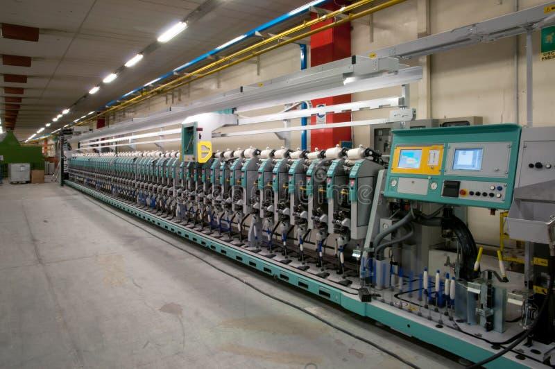 Industrie textile - enroulement image stock