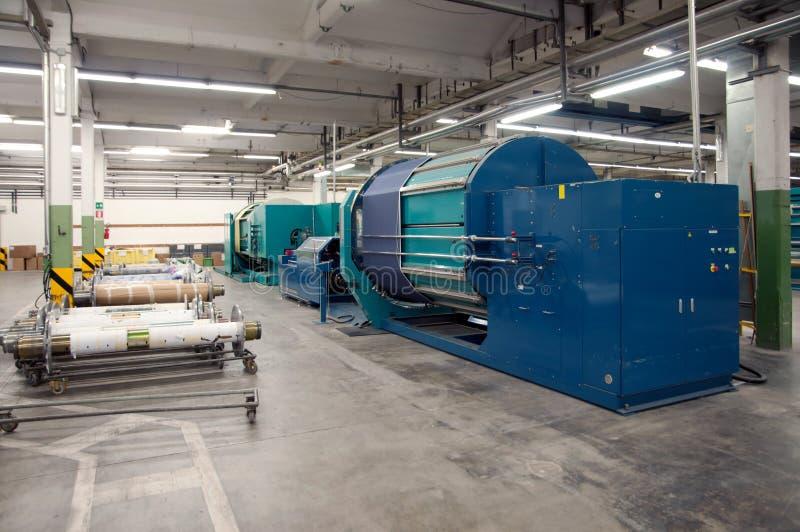 Industrie textile - tissant et se faussant photo libre de droits