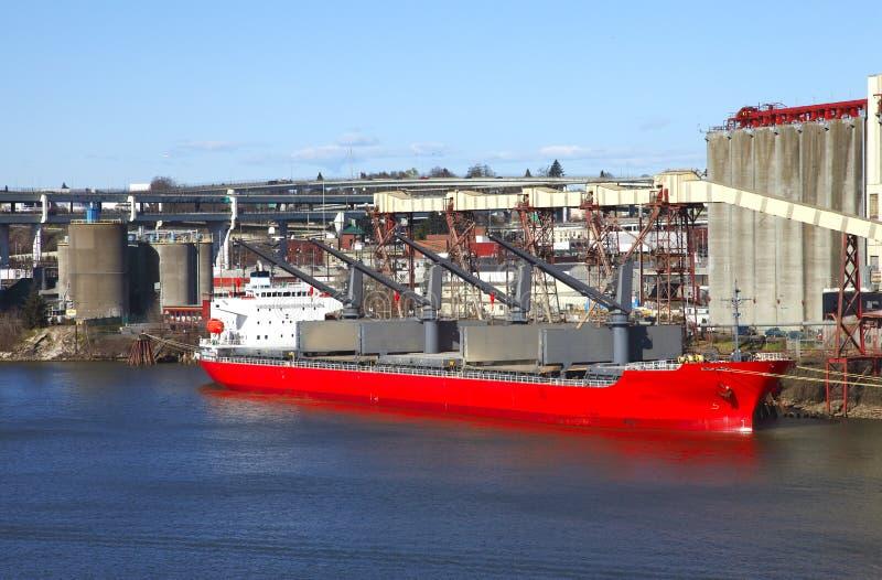 Industrie, trasporto di carico. immagine stock libera da diritti