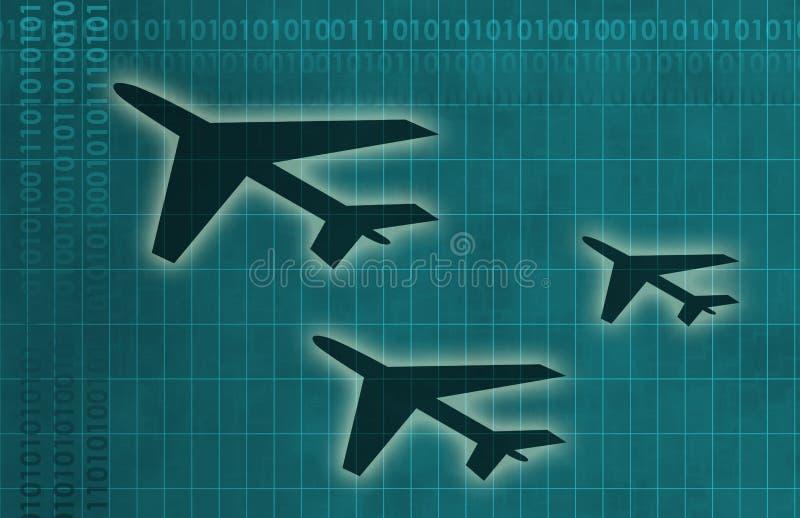 Industrie van de luchtvaart vector illustratie