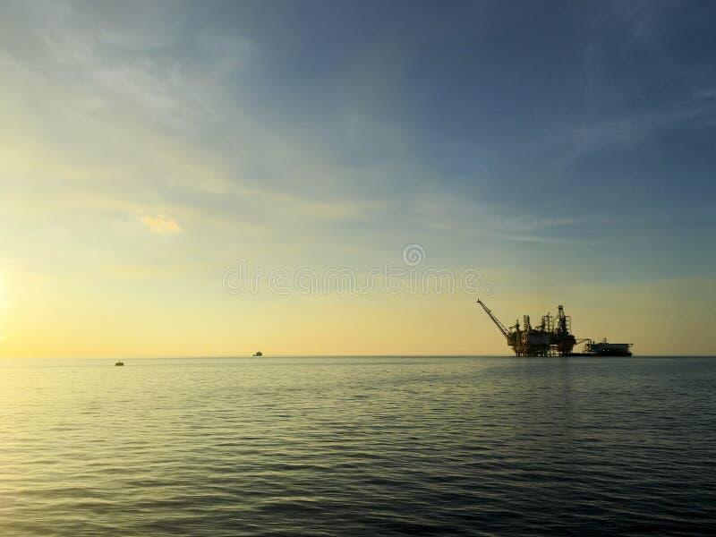 Industrie van de olie en van het Gas stock afbeeldingen