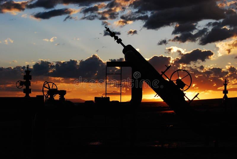 Industrie van het gas en van de Olie royalty-vrije stock fotografie
