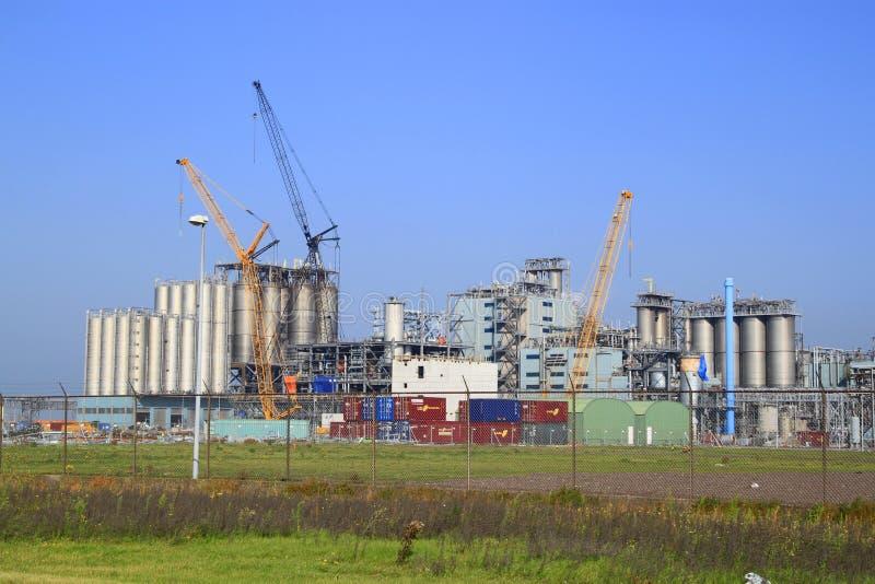 Industrieanlage stockbilder