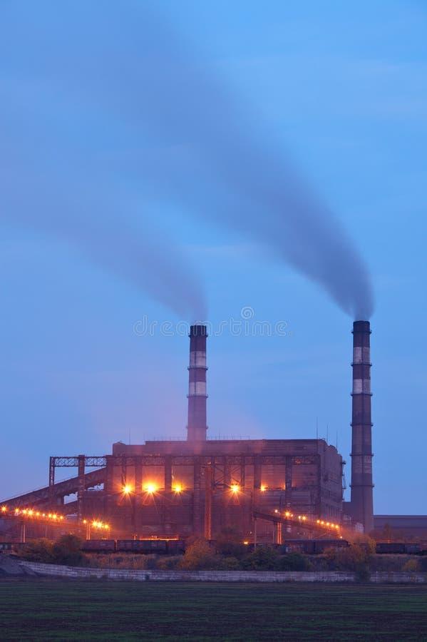 Industrieanlage stockfotografie