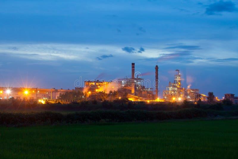 Industrieanlage lizenzfreie stockbilder