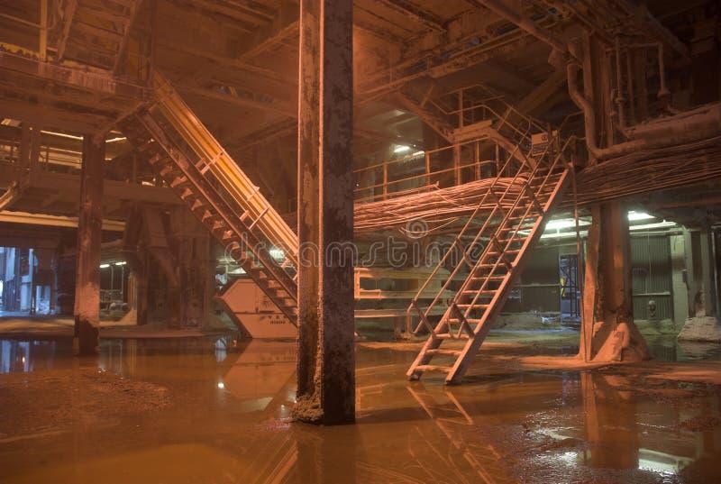 Industrieel Binnenland royalty-vrije stock afbeeldingen