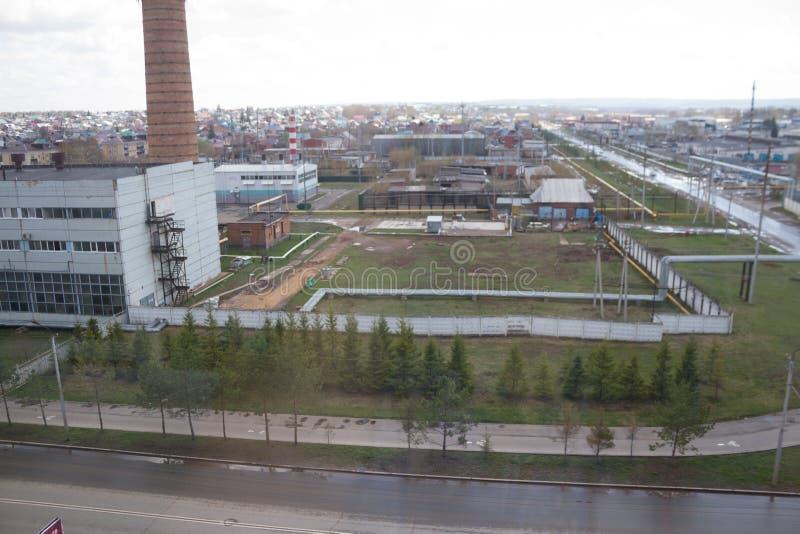 Industrieel district van de stad royalty-vrije stock foto's
