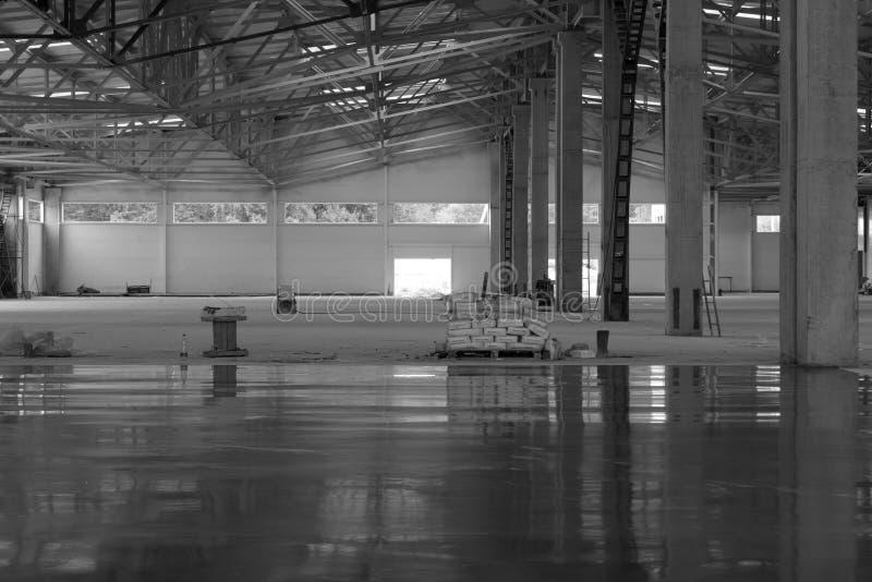 Industrieel gebouw stock foto's