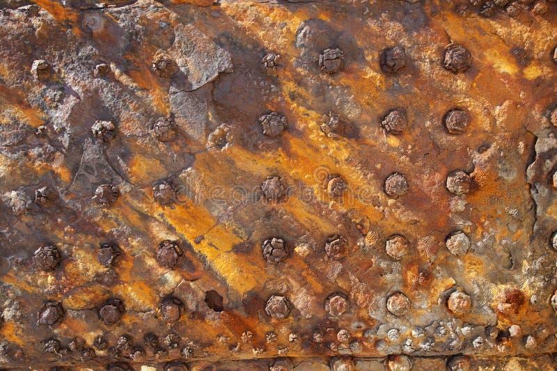 Industrieel metaal als achtergrond stock afbeelding