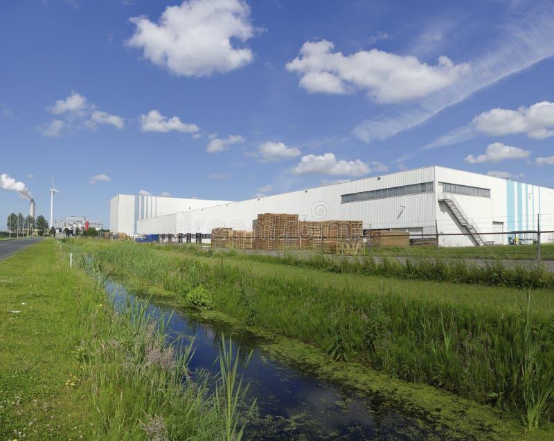 Industrieel pakhuis royalty-vrije stock foto