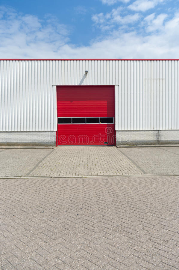 Industrieel pakhuis stock fotografie