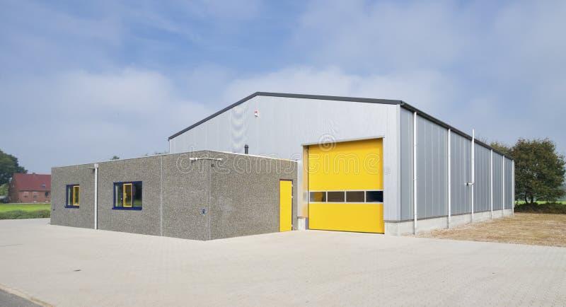 Industrieel Pakhuis stock foto