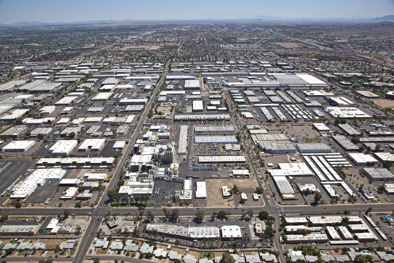 Industriegebiet von Tempe lizenzfreies stockfoto