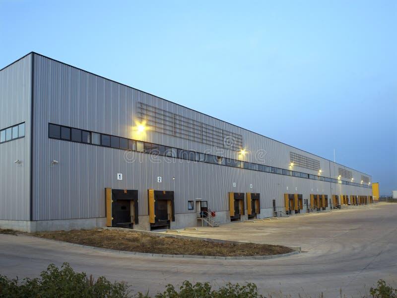 Industriehalle stockfoto