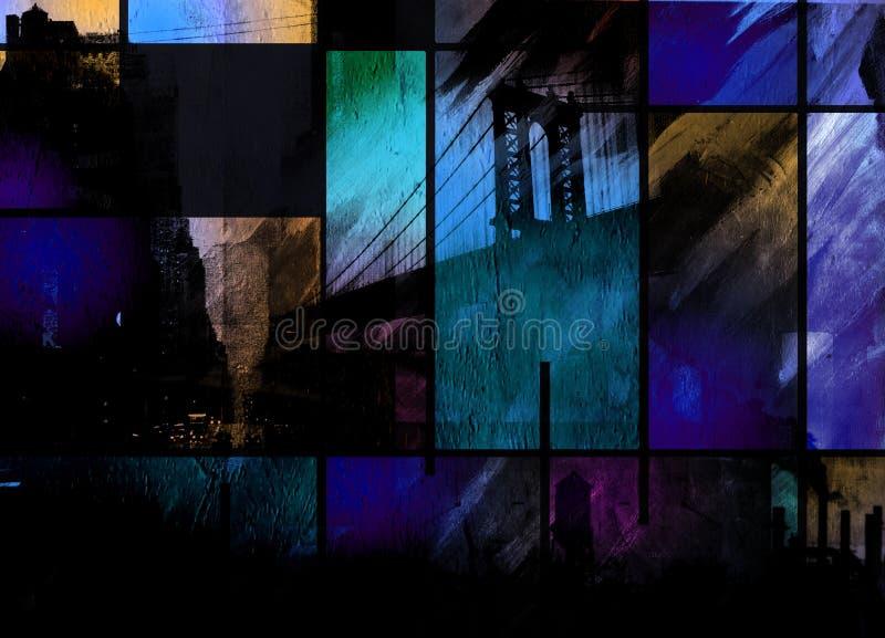 Industriel abstrait illustration stock