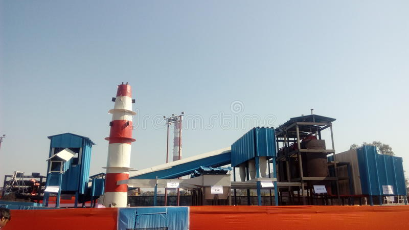industriell stockbild