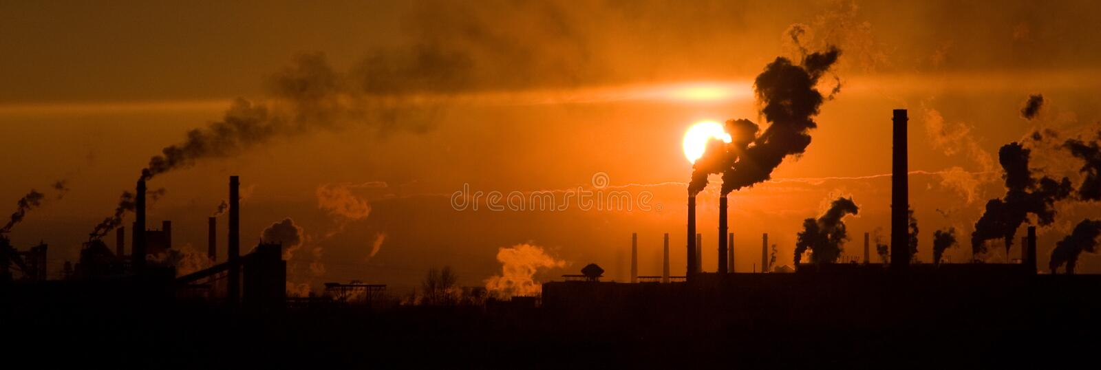 Industriell stockfoto