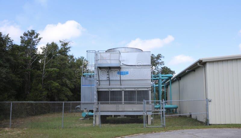 Industriell enhet för HVAC arkivbilder