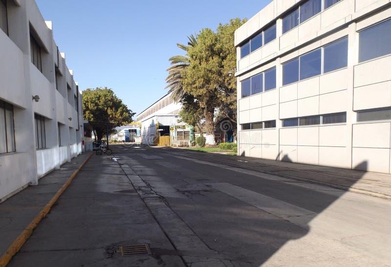 Industriell gata BT fotografering för bildbyråer