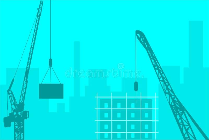 Download Industriell horisont stock illustrationer. Illustration av bygger - 504863