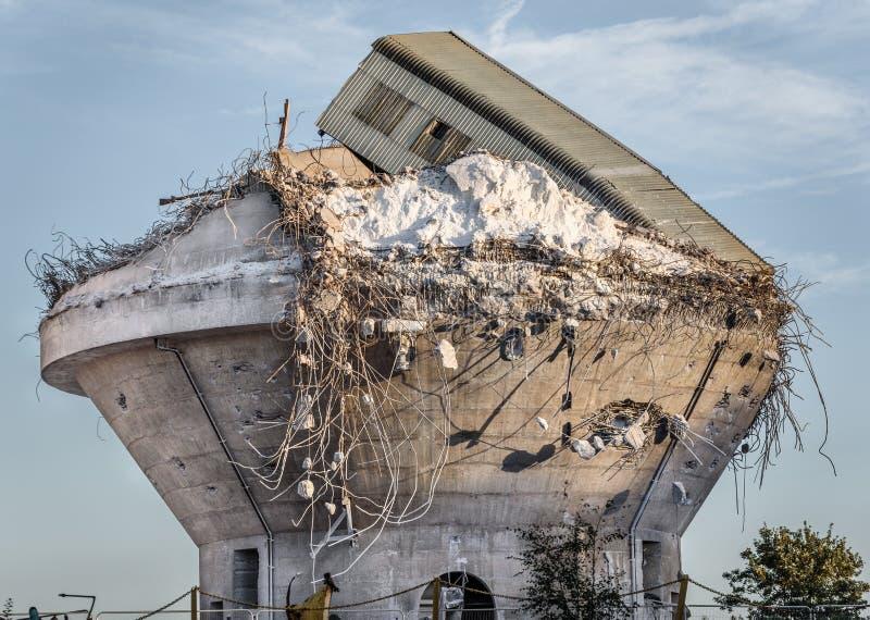 Industriell katastrof fotografering för bildbyråer