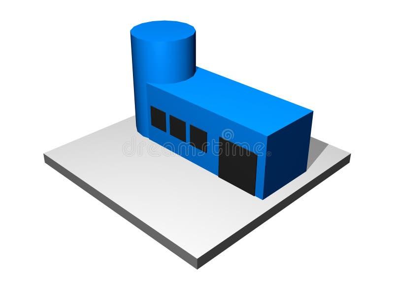 industriell manufacturinforskning för utveckling stock illustrationer