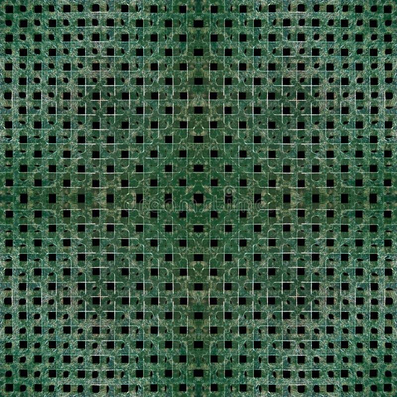Industriell materiell rastermodell arkivbilder
