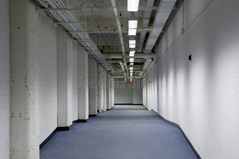 Industriell Passage Royaltyfria Foton
