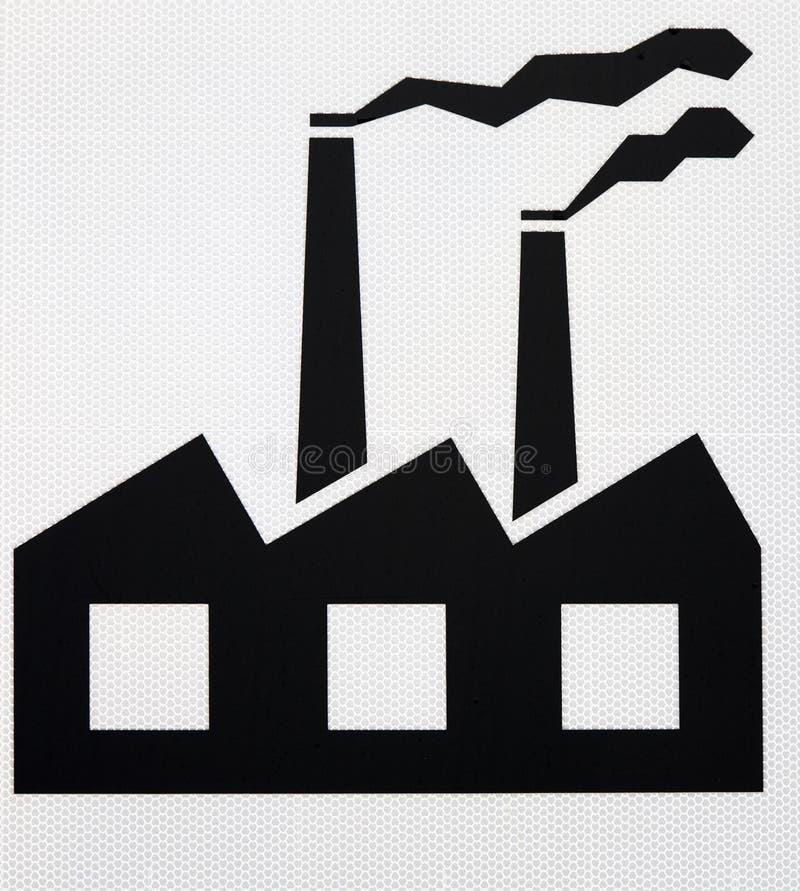 industriell pictogram för område stock illustrationer