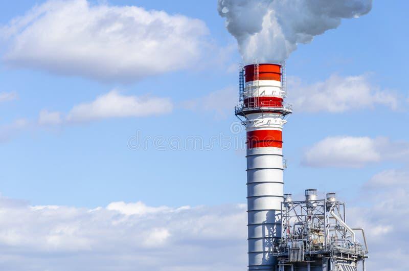 industriell rök för lampglas royaltyfria foton