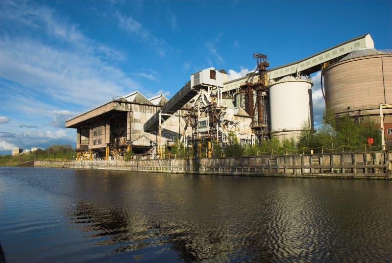 industriell växt arkivfoton