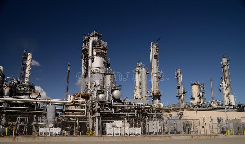 Industriell växt arkivfoto