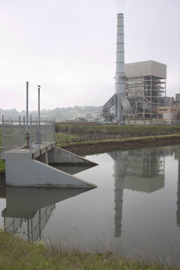 industriell wasteland royaltyfri fotografi
