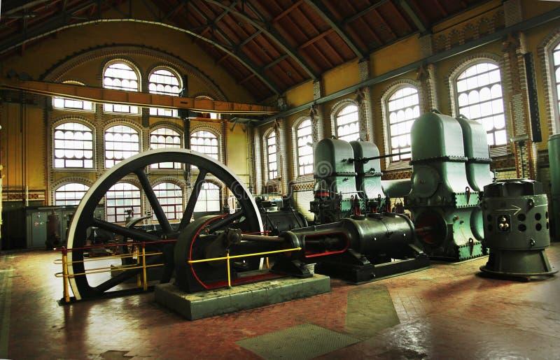 industriella maskiner royaltyfria bilder