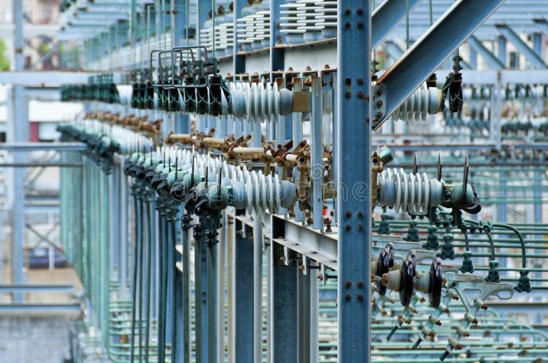 Industrielle Elektrizität lizenzfreies stockfoto