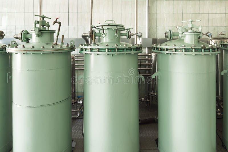 Industrielle Filtrationseinheit lizenzfreie stockfotos