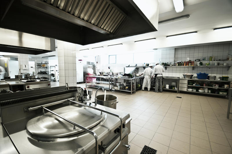 Industrielle Küche lizenzfreies stockbild