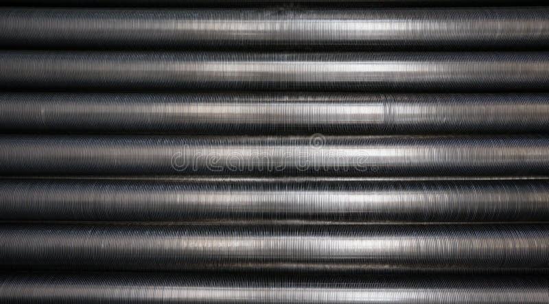 Industrielle Kühlrohre lizenzfreie stockfotografie