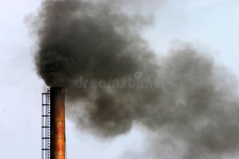 Industrielle Luftverschmutzung lizenzfreie stockfotos