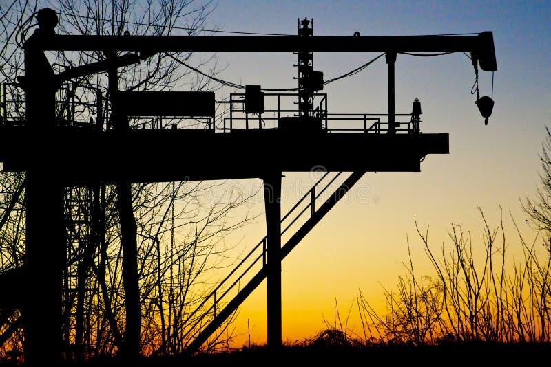 Industrielle Maschinerie lizenzfreie stockfotos