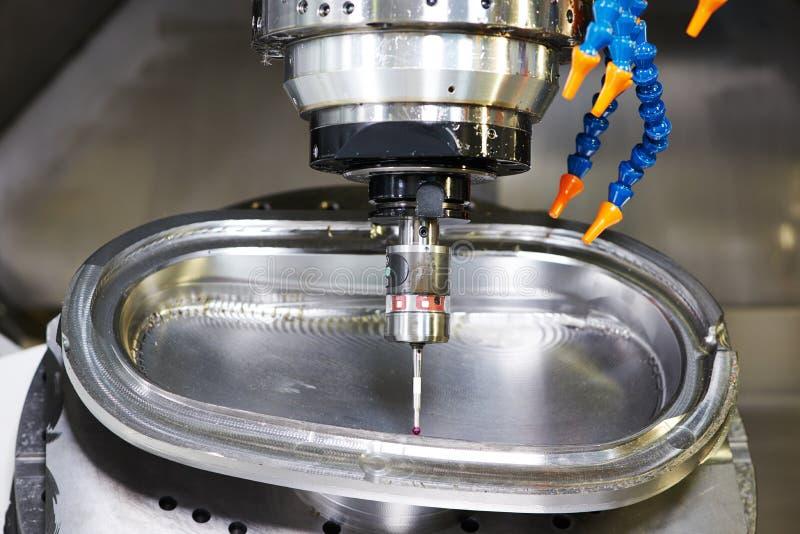 Industrielle Metrologiesonden-Werkzeugarbeit stockbild