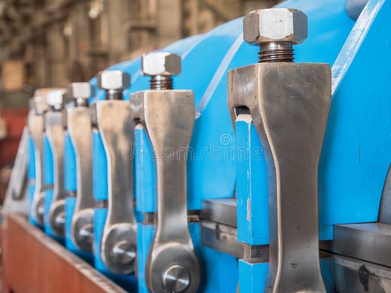 Industrielle Presse stockfotos