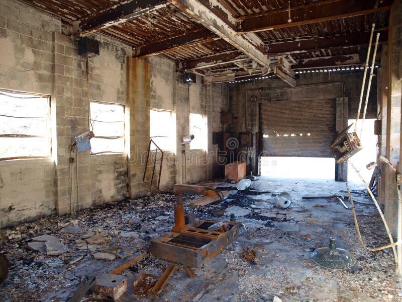 Industrielle Ruine lizenzfreie stockbilder